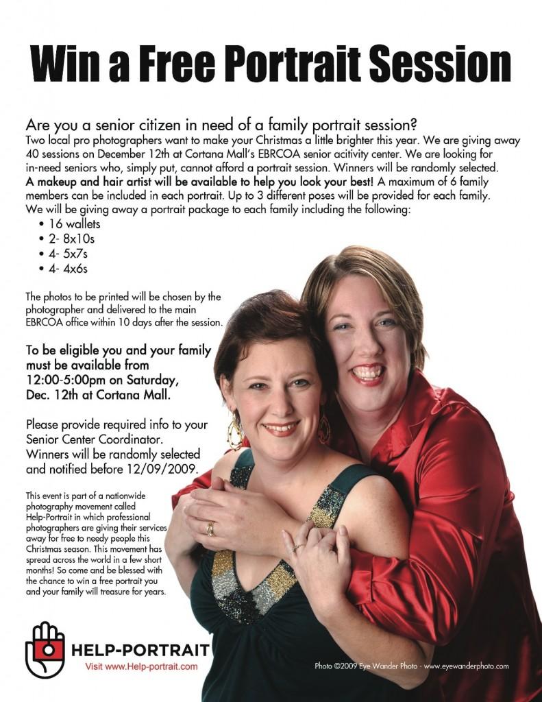 Help Portrait Flyer