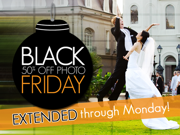50% Photo Friday - Extended through Monday!