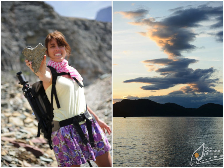 Glacier National Park Montana Landscape Photography Lake Heart Rock
