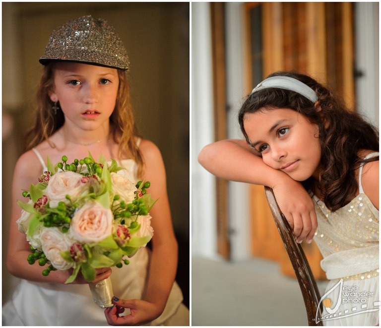 Children at Weddings Flower Girls Portraits