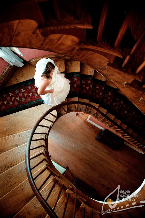Spiral Staircase Bridal New Orleans