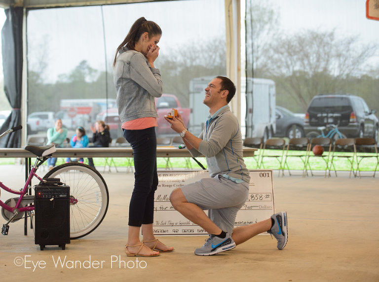 Baton Rouge proposal photography