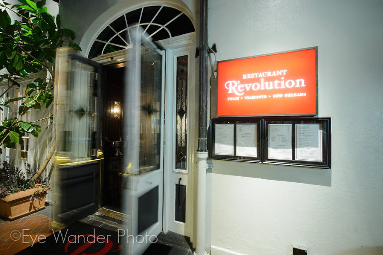 revolution restaurant in new orleans