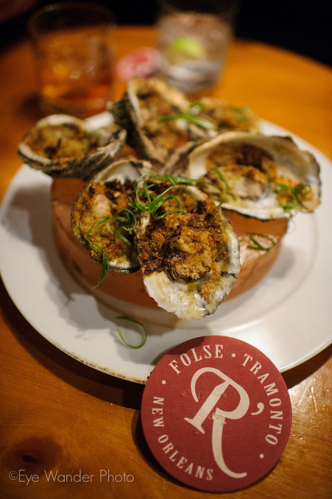 oysters at revolution restaurant in new orleans